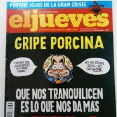 Coleccionismo de Revista El Jueves: EL JUEVES - AÑO XXXII Nº 1667 - DEL 6 AL 12 DE MAYO DE 2009. Lote 244410650