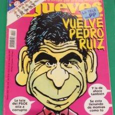 Coleccionismo de Revista El Jueves: EL JUEVES. N⁰1027. FEBRERO DE 1997. INCLUYE PÓSTER DE SYLVESTER STALLONE.. Lote 244427585