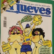 Coleccionismo de Revista El Jueves: EL JUEVES. N⁰997. JULIO DE 1996. CON PÓSTER 7 JULIO, SAN FERMÍN.. Lote 244429175
