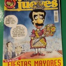 Coleccionismo de Revista El Jueves: EL JUEVES. N⁰1107. AGOSTO 1998. INCLUYE PÓSTER.. Lote 244431430