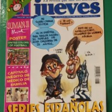 Coleccionismo de Revista El Jueves: EL JUEVES. N⁰ 985. ABRIL 1996. INCLUYE PÓSTER: UNITED COLORS OF FOOTBALL.. Lote 244432680