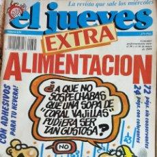 Coleccionismo de Revista El Jueves: REVISTA EL JUEVES N° 624. AÑO 1989. Lote 244769395