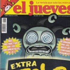 Coleccionismo de Revista El Jueves: REVISTA EL JUEVES NÚMERO 1556 : EXTRA TELE. EDITADO EN 2007.. Lote 244821810