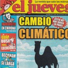 Coleccionismo de Revista El Jueves: REVISTA EL JUEVES NÚMERO 1548 : CAMBIO CLIMÁTICO !ESTO NO HAY QUIEN LO PARE¡. EDITADO EN 2007.. Lote 244822515