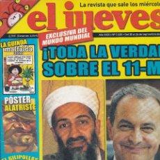 Coleccionismo de Revista El Jueves: REVISTA EL JUEVES NÚMERO 1530 : !TODA LA VERDAD SOBRE EL 11-M¡. EDITADO EN 2006.. Lote 244825735