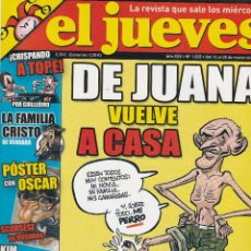 Coleccionismo de Revista El Jueves: REVISTA EL JUEVES NÚMERO 1555 : CAMBIO CLIMATICO.ESTO VA EN SERIO. EDITADO EN 2007.. Lote 244877840