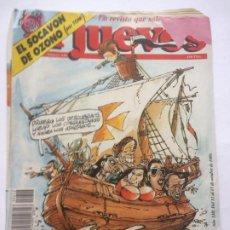 Coleccionismo de Revista El Jueves: EL JUEVES 646. 11 AL 17 OCTUBRE 1989. 3 PARA EL 500-EL SOCAVÓN DE OZONO. Lote 244894495