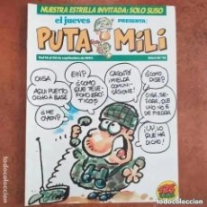 Coleccionismo de Revista El Jueves: PUTA MILI NUM 12. Lote 245004785