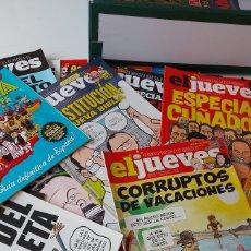 Coleccionismo de Revista El Jueves: LOTE DE 79 REVISTAS EL JUEVES. Lote 245095550