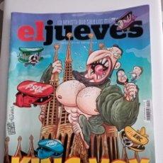 Coleccionismo de Revista El Jueves: EL JUEVES Nº 2282 , KING VOX , PÁNICO EN CATALUÑA .. Lote 245389460