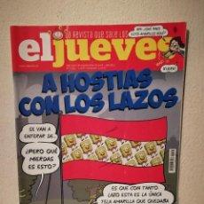 Coleccionismo de Revista El Jueves: REVISTA - EL JUEVES LA QUE SALE LOS MIERCOLES - COMIC - NUM. 2154 - A HOSTIAS CON LOS LAZOS. Lote 245505085