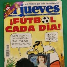 Coleccionismo de Revista El Jueves: EL JUEVES. N⁰1006. SEPTIEMBRE 1996. INCLUYE PÓSTER DE KIM BASINGER.. Lote 245648010