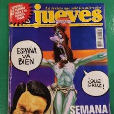 Coleccionismo de Revista El Jueves: EL JUEVES. N⁰1089. ABRIL 1998. INCLUYE PÓSTER.. Lote 245652275