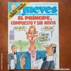 Coleccionismo de Revista El Jueves: EL JUEVES NUM 744. EL REY, COMPUESTO Y SIN NOVIA. Lote 246310535