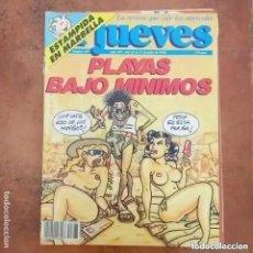 Coleccionismo de Revista El Jueves: EL JUEVES NUM 687. PLAYAS BAJO MINIMOS.. Lote 246313280