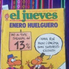 Coleccionismo de Revista El Jueves: EL JUEVES - AÑO III - NÚM. 88 - 31 DE ENERO DE 1979.. Lote 246377190