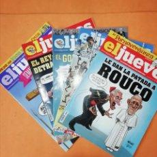 Coleccionismo de Revista El Jueves: EL JUEVES. LOTE DE 5 NUMEROS. DEL 1921 AL 1925. MUY BUEN ESTADO.. Lote 248159685