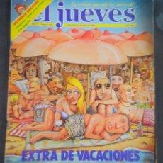 Coleccionismo de Revista El Jueves: EL JUEVES EXTRA DE VACACIONES NÚMERO 164 , INCLUYE POSTALES, 1980, VER FOTOS. Lote 250207695