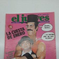 Colecionismo da Revista El Jueves: EL JUEVES Nº 85, ENERO 1979. Lote 251348365