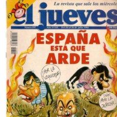 Colecionismo da Revista El Jueves: EL JUEVES. Nº 895. ESPAÑA ESTÁ QUE ARDE. POSTER: VENTURA & NIETO. 20 JULIO 1994. (C/A28). Lote 252491700