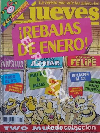 EL JUEVES - REBAJAS DE ENERO (Coleccionismo - Revistas y Periódicos Modernos (a partir de 1.940) - Revista El Jueves)