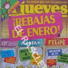 Coleccionismo de Revista El Jueves: EL JUEVES - REBAJAS DE ENERO. Lote 252505960