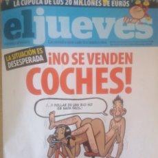 Coleccionismo de Revista El Jueves: EL JUEVES - AÑO XXXI - NÚM. 1644 - DEL 26 DE NOVIEMBRE AL 2 DE DICIEMBRE DE 2008. #EJ0017. Lote 254549720