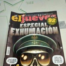 Coleccionismo de Revista El Jueves: X EL JUEVES 2193. ESPECIAL EXHUMACCION. Lote 254888265