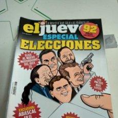 Coleccionismo de Revista El Jueves: X EL JUEVES 2187 ESPECIAL ELECCIONES. Lote 254888640