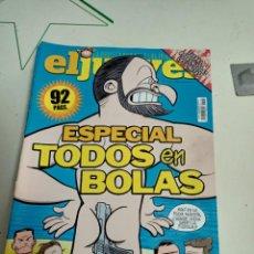 Coleccionismo de Revista El Jueves: X EL JUEVES 2198 ESPECIAL TODOS EN BOLAS. Lote 254891725