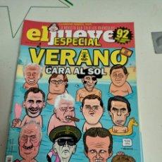 Coleccionismo de Revista El Jueves: X EL JUEVES 2147 ESPECIAL VERANO CARA AL SOL. Lote 254892015