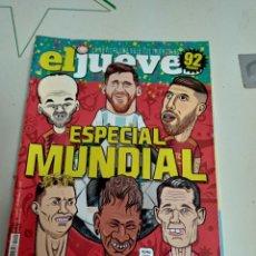 Coleccionismo de Revista El Jueves: X EL JUEVES 2142 ESPECIAL MUNDIAL. Lote 254892205