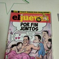 Coleccionismo de Revista El Jueves: X EL JUEVES 2217 POR FIN JUNTOS. Lote 254892645