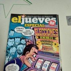 Coleccionismo de Revista El Jueves: X EL JUEVES 2215 ESPECIAL ELECCIONES GENERALES. Lote 254892950