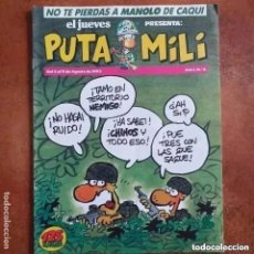 Coleccionismo de Revista El Jueves: PUTA MILI NUM 6. Lote 255426305
