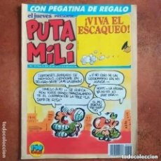 Coleccionismo de Revista El Jueves: PUTA MILI NUM 53. Lote 255426435