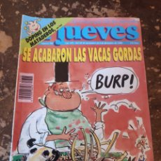 Coleccionismo de Revista El Jueves: REVISTA EL JUEVES N° 705 (AÑO XIV, 1990). Lote 255542370