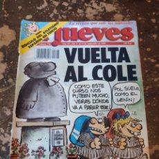 Coleccionismo de Revista El Jueves: REVISTA EL JUEVES N° 746 (AÑO XV, 1991). Lote 255542550
