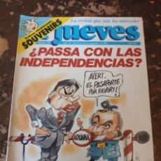 Coleccionismo de Revista El Jueves: REVISTA EL JUEVES N° 747 (AÑO XV, 1991). Lote 255542575