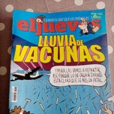 Coleccionismo de Revista El Jueves: EL JUEVES Nº 2289 , LLUVIA DE VACUNAS .. Lote 256164940