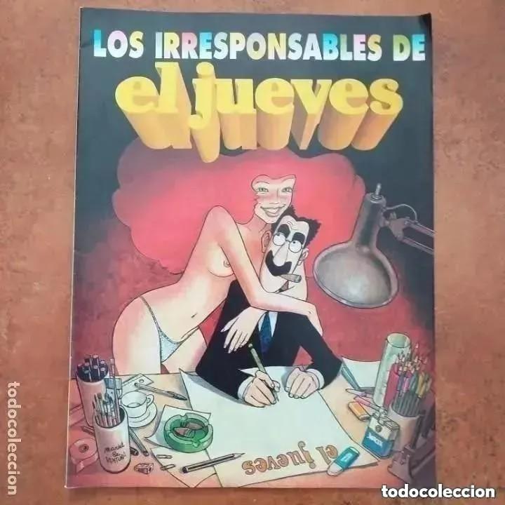Coleccionismo de Revista El Jueves: EL JUEVES NUM 783 EXTRA 15 AÑOS + LOS IRRESPONSABLES DE EL JUEVES - Foto 2 - 257015755
