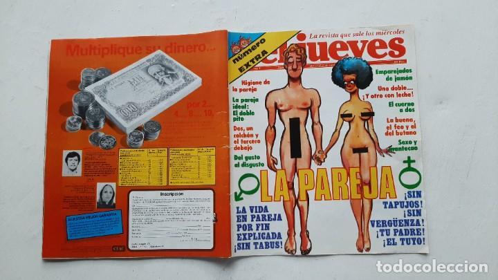 EL JUEVES EXTRA (LA PAREJA), OCTUBRE 1981 (Coleccionismo - Revistas y Periódicos Modernos (a partir de 1.940) - Revista El Jueves)