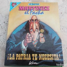 Coleccionismo de Revista El Jueves: PENDONES DEL HUMOR Nº 18, EL JUEVES, KIM, MARTINEZ EL FACHA, LA PATRIA TE NECESITA. Lote 262366375
