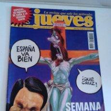 Coleccionismo de Revista El Jueves: REVISTA EL JUEVES AZNAR SEMANA SANTA 1998 9 A 14 DE ABRIL 1089. Lote 262393750