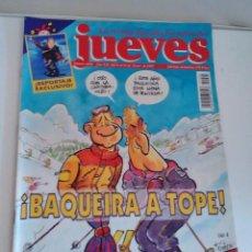 Coleccionismo de Revista El Jueves: REVISTA EL JUEVES BAQUEIRA A TOPE N 1024 ENERO 1997. Lote 262400795