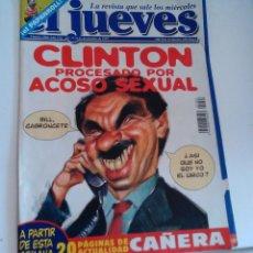 Coleccionismo de Revista El Jueves: REVISTA EL JUEVES CLINTON PROCESADO N 1064 OCTUBRE 1997. Lote 262400955