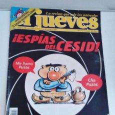 Coleccionismo de Revista El Jueves: REVISTA EL JUEVES ESPÍAS DEL CESID MAYO 1998 N 1092. Lote 262401460