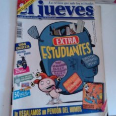 Coleccionismo de Revista El Jueves: REVISTA EL JUEVES EXTRA ESTUDIANTES N 1218 OCTUBRE 2000. Lote 262401895
