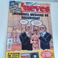 Coleccionismo de Revista El Jueves: REVISTA EL JUEVES ¡MENUDAS MEDIDAS DE SEGURIDAD! N 1051 JULIO 1997 CON POSTER CENTRAL. Lote 262402685