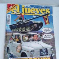 Coleccionismo de Revista El Jueves: REVISTA EL JUEVES ¡SUPERBONO! MAYO 2004 N1406 POSTER MALA RODRÍGUEZ. Lote 262403125